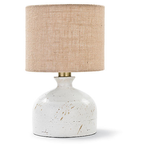 Marseille Table Lamp, White