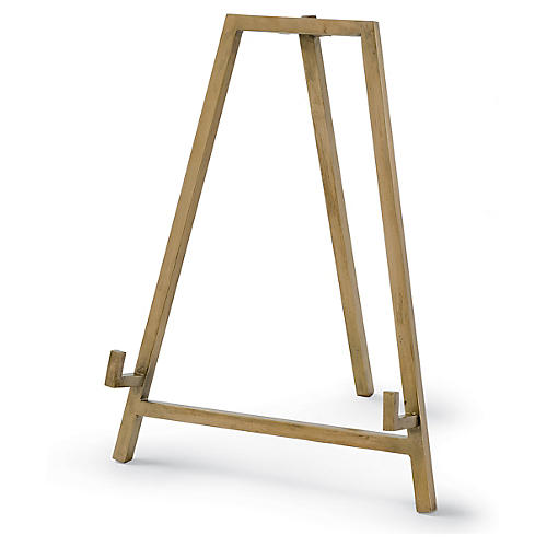 "11"" Heavy Duty Easel, Brass"