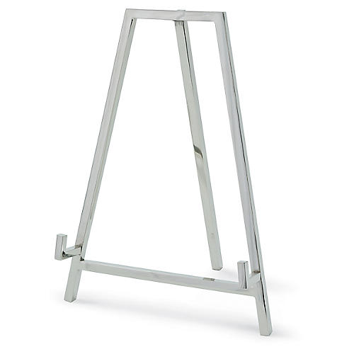 "11"" Heavy Duty Easel, Nickel"