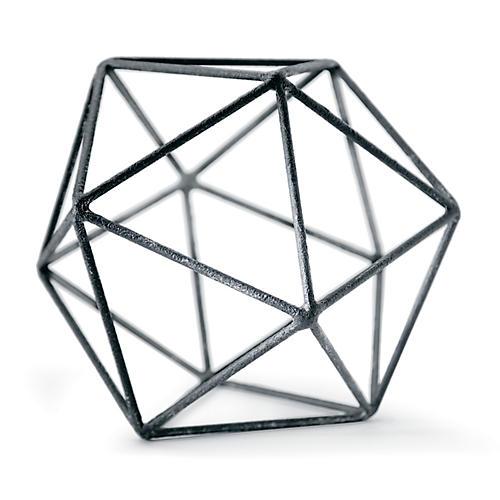 Zinc Polyhedron, Black