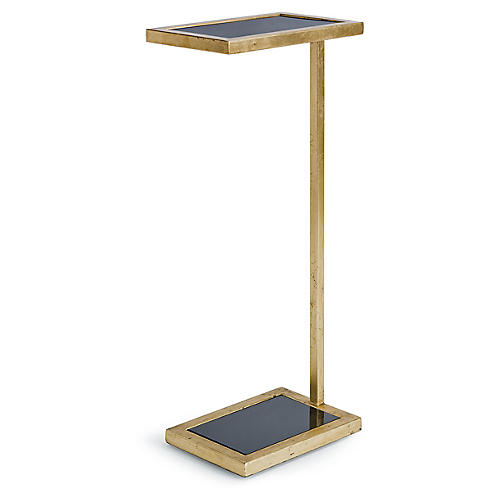 Liam Side Table, Gold