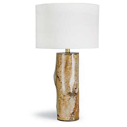 Alpine Table Lamp, Natural