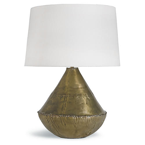 Cyprus Table Lamp, Gold
