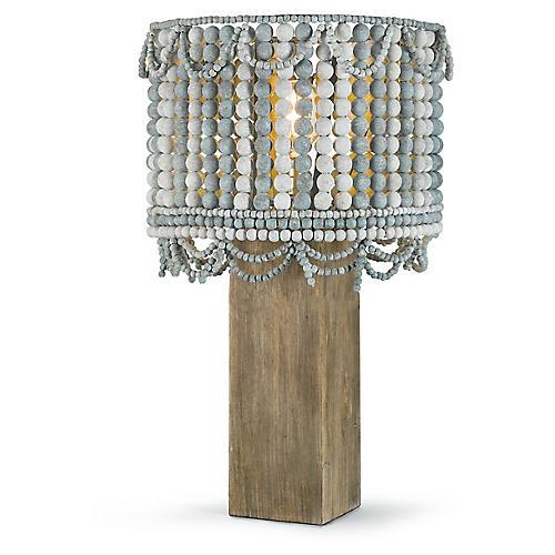 Malibu Table Lamp, Blue