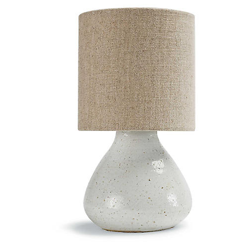 Mercury Table Lamp, White