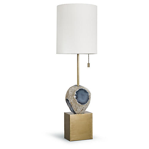Rock Candy Table Lamp, Gold