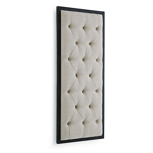 Tufted Wall Display, Cream