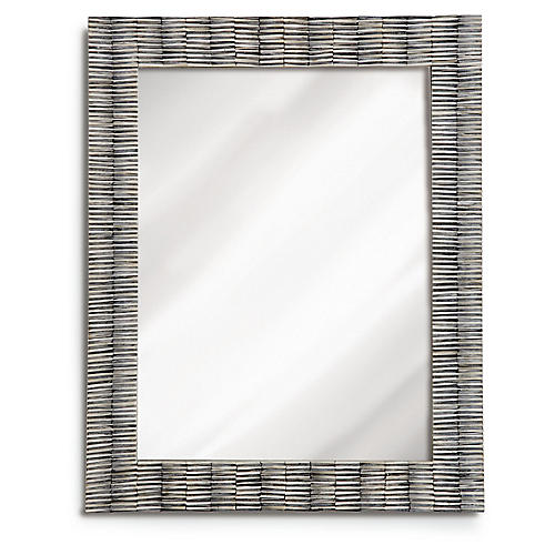 Luna Wall Mirror, Slate