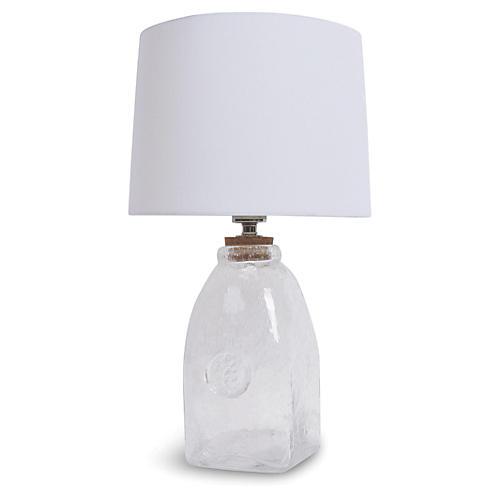 Signature Keepsake Large Table Lamp, Clear