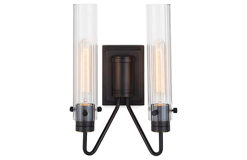 Neo 2-Light Sconce, Oil-Rubbed Bronze