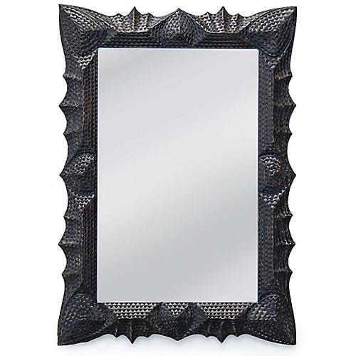 Tramp Wall Mirror, Black