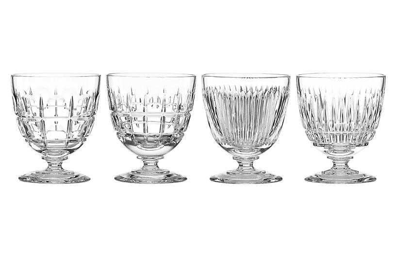 S/4 O'Brien Cocktail Set, Clear