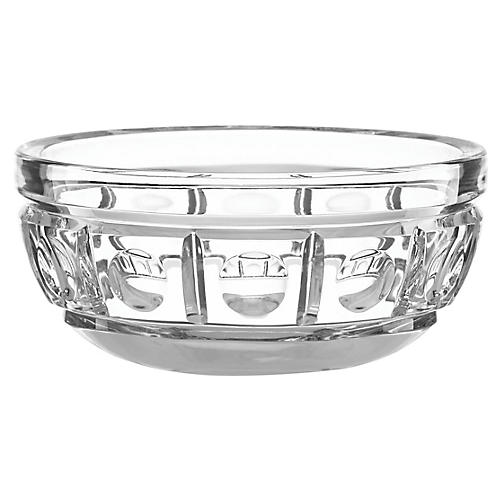 O'Brien New Vintage Nut Bowl, Clear