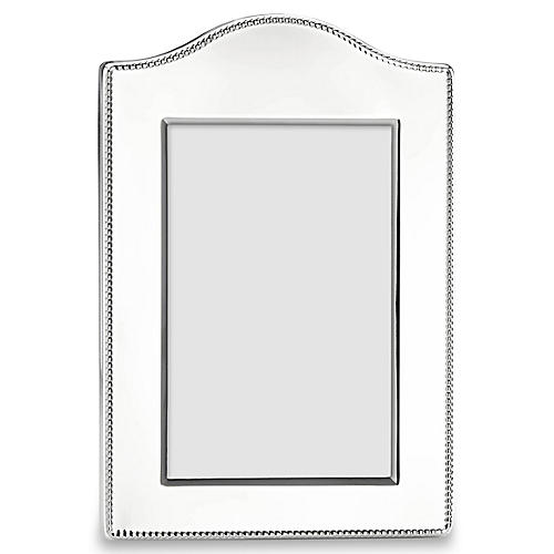 Lyndon Curved Picture Frame, Silver