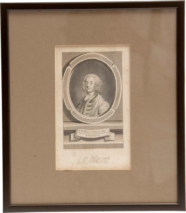 London Magazine Clipping, 1756