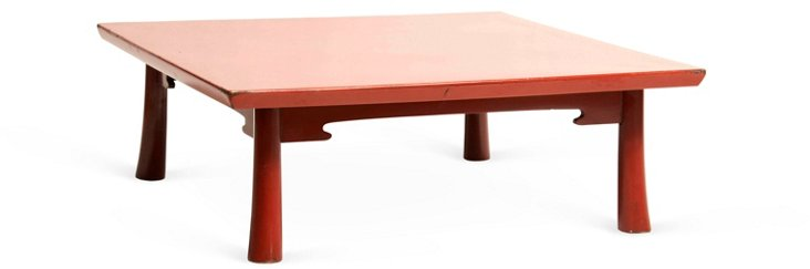 Japanese Midcentury Lacquer Table
