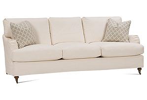 Brooke Slipcovered Sofa, Ecru