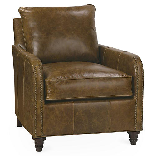 Hayes Chair, Cocoa Leather