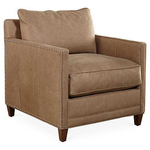 Springfield Chair, Palermo Putty Leather