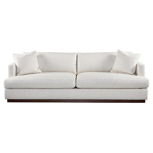 "Forbes 97"" Sofa, Natural"