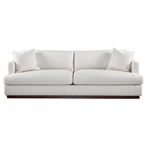 """Forbes 97"""" Sofa, Natural"""