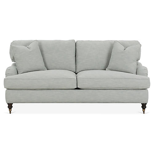 Brooke Sofa, Mist Crypton