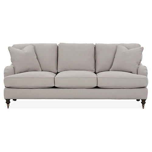 Brooke Sofa, Greige Crypton