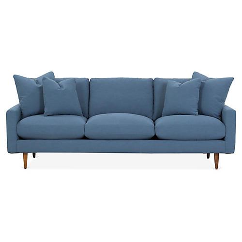 Oslo Sofa, Indigo Crypton