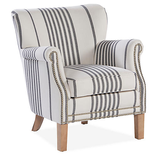 Grant Accent Chair, Gray