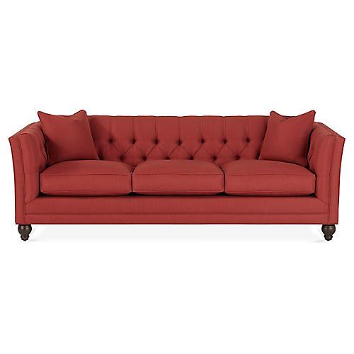 Stevens Sofa, Red