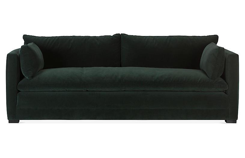 Elmore Velvet Sofa