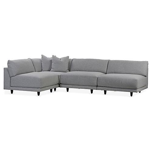 Neval Sectional, Gray