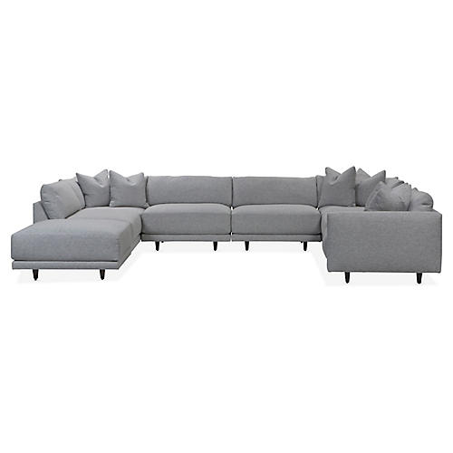 Neval Modular Sectional, Gray