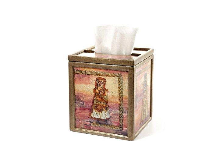 Boutique Tissue Box, Inca Dolls