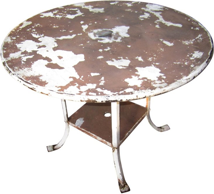 Shabby Chic Outdoor Table