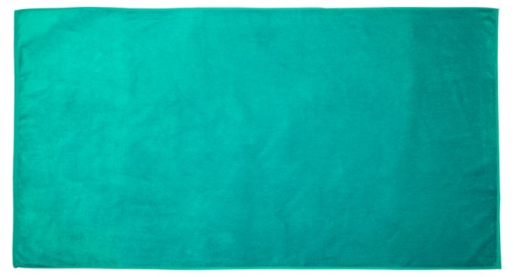 Deck Towel, Turquoise