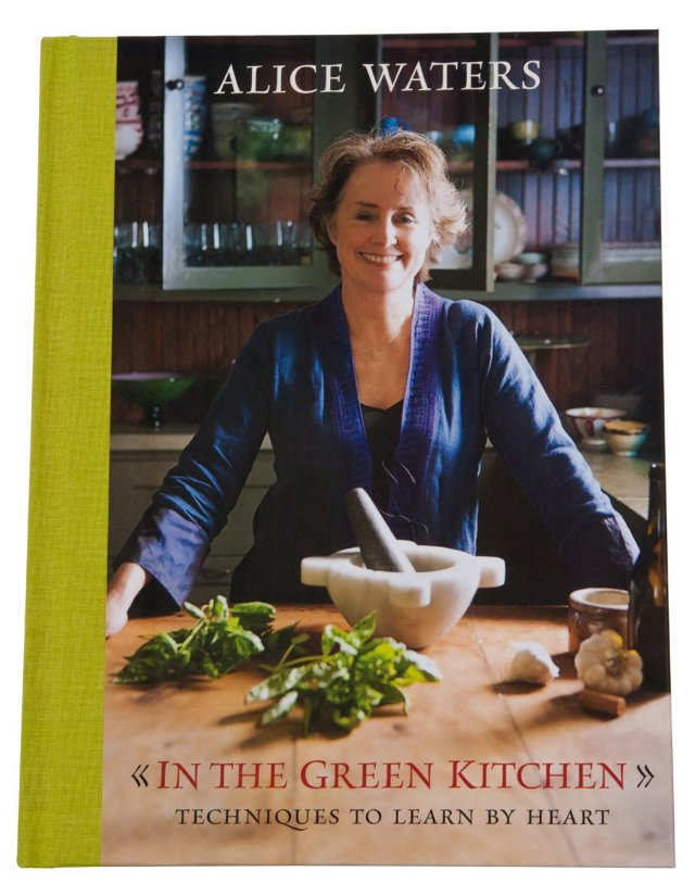 In the Green Kitchen, Signed