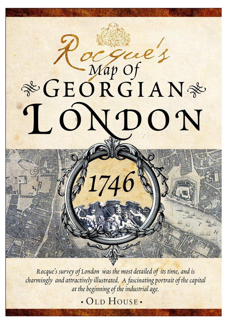Rocque's Map of Georgian London, 1746