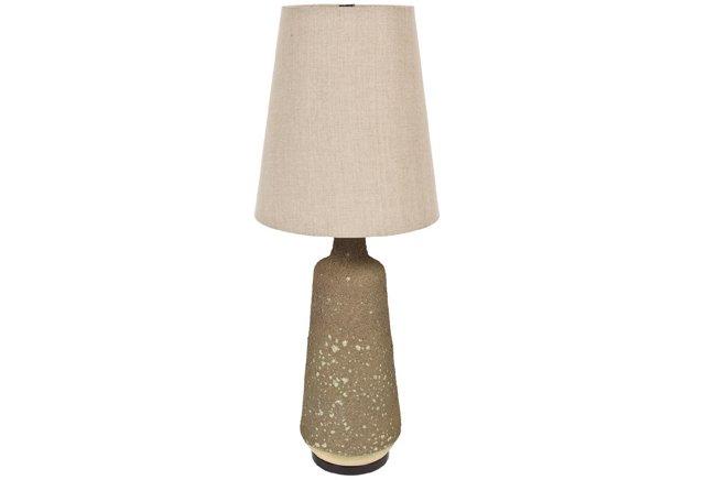 Lava Glazed Lamp