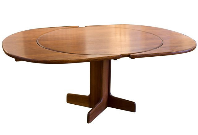 Solid Shedua Wood Dining Table