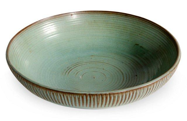Laura Anderson Ridged Bowl