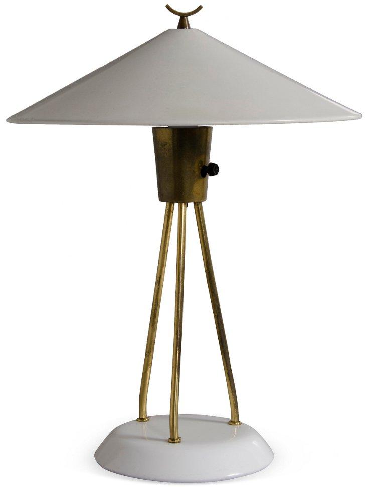 Lightolier Coolie Hat Lamp