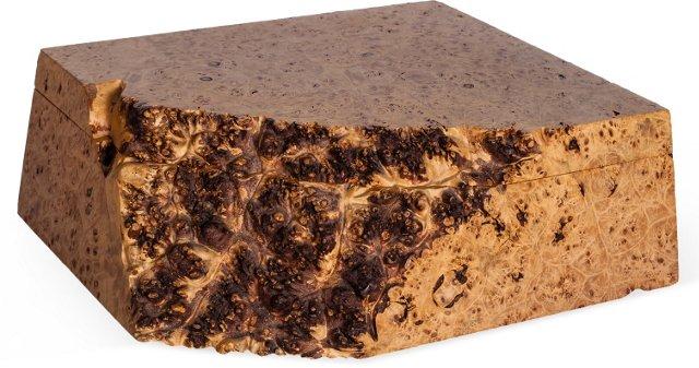 Michael Elkan Maple Burl Box