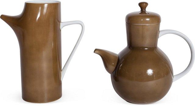 Kenji Fujita Coffeepots, Set of 2