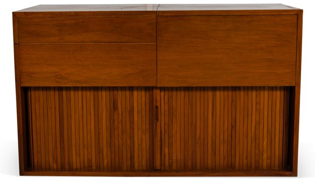 Milo Baughman Stereo Cabinet