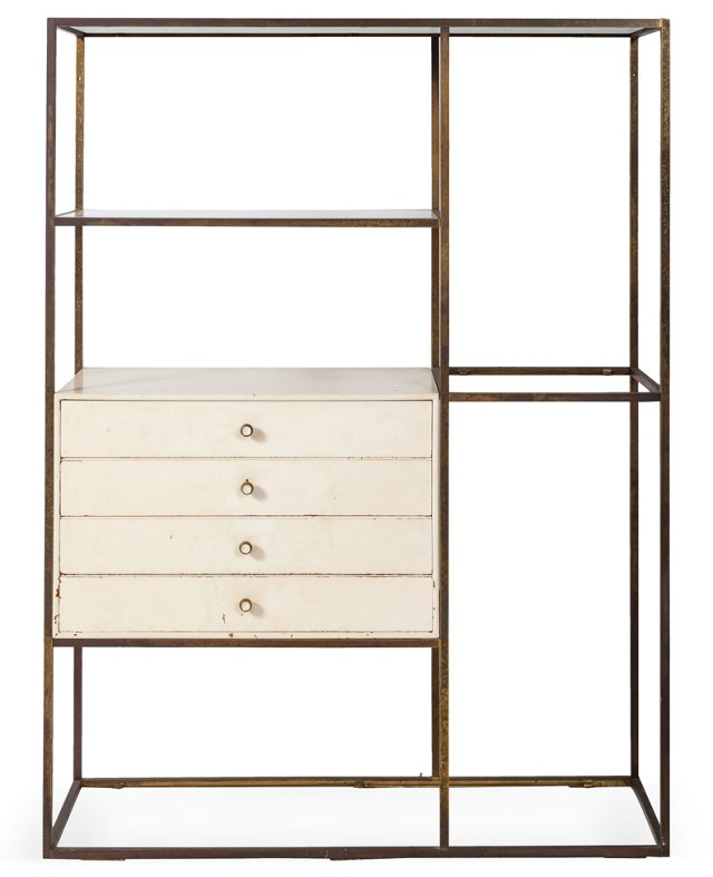 Furnette Shelving Unit