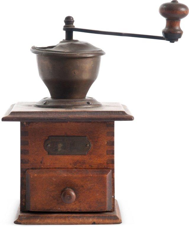 Antique German Coffee Mill