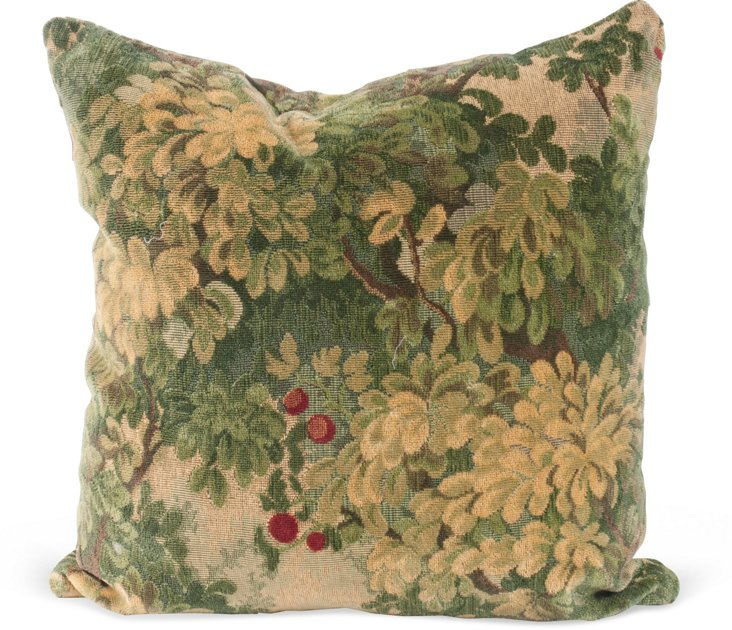 Small Tapestry Pillow