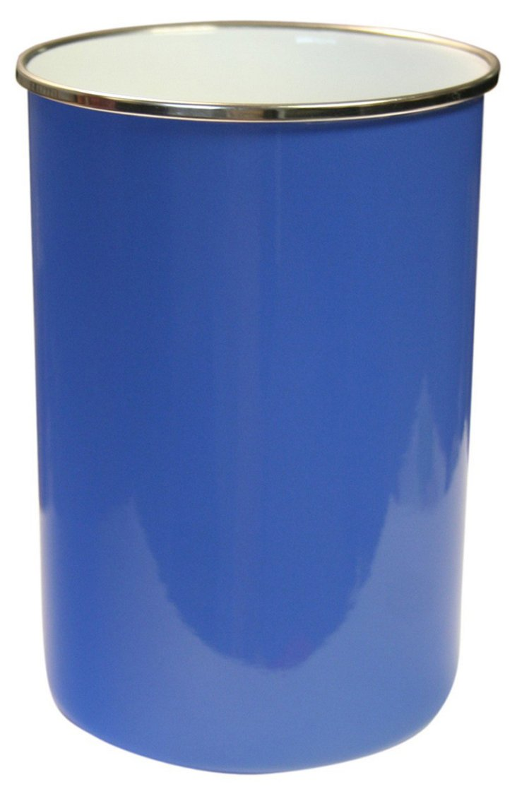 Steel Kitchen Utensil Holder, Blue