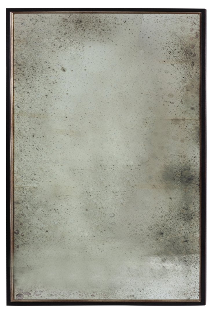 Large Antiqued Mirror